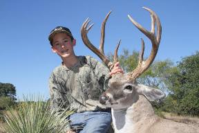 10 year old with buck