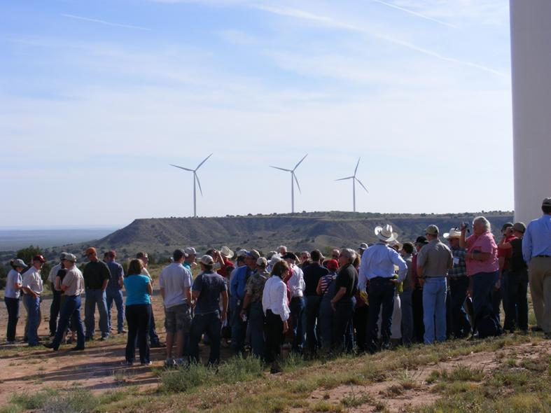 Adult field day - turbines